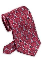 Eiffel Tower - Men's Silk Necktie
