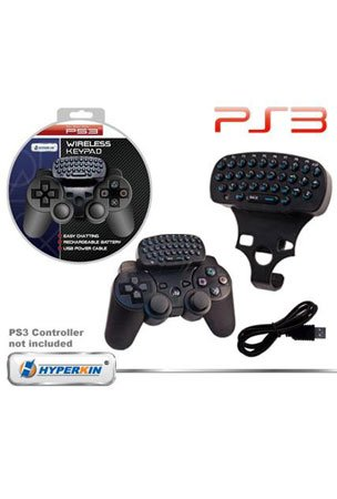 PS3 Hyperkin Wireless Keypad