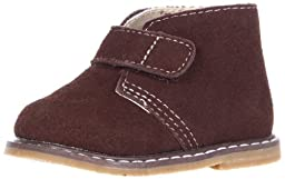 Natural Steps Belmont Bootie (Infant/Toddler/Little Kid),Brown Suede,2 M US Infant