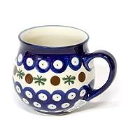 ポーリッシュポタリー/マグカップ 0.2L Ceramika Millena 1-16-013