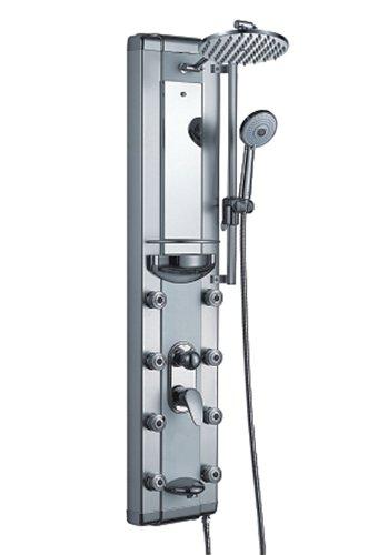 AKDY Aluminum Shower Panel Az51371 Rain Style Massage System.