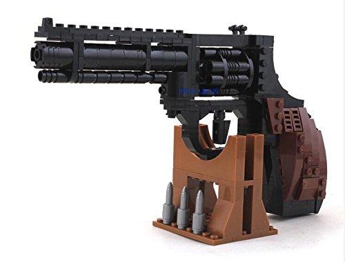 PistolPower GUNWeapon Arms Model 1:1 3D Educational Toys DIY Building Blocks Brinks in Plastic