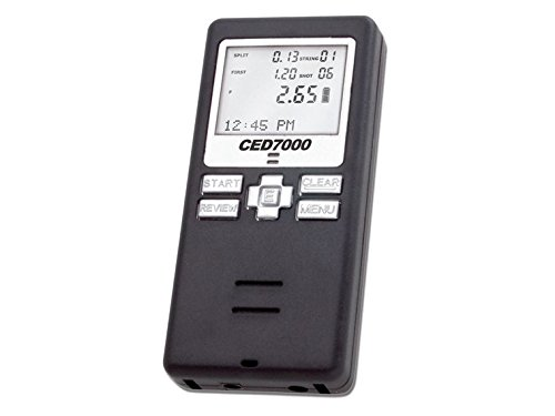 CED7000 Shot Timer - Perfect for Dry Fire Practice Shooting or RO use in USPSA, IPSC, 3 gun, and Steel Challenge. (Pistol Timer compare prices)