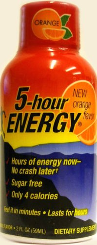 5 Hour Energy Shot Orange - 59ml