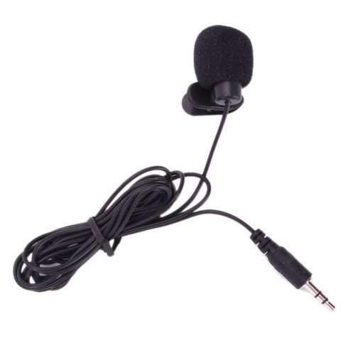 Hands Free Clip On Mini Microphone