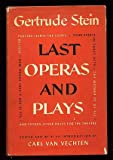 Last operas and plays