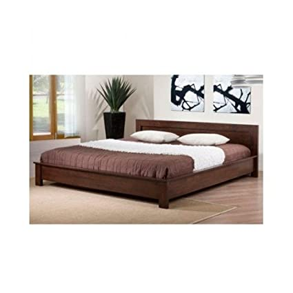 King Size Platform Beds Provide Plenty of Room to Sleep and Are a Welcomed Piece of Furniture in the Bedroom. Add a Modern Touch to Your Bedroom with This Platform Bed. A Lovely Dark Brown Finish Completes This Durable, Stylish King-size Bed.