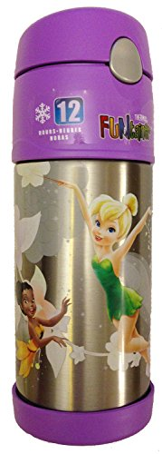 Thermos Funtainer Bottle, Tinkerbell And Disney Fairies front-624693