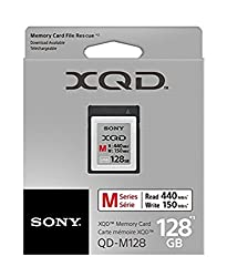 Sony 64GB XQD Memory Card M Series up to 440MB s Read w File Rescue Software 128GB