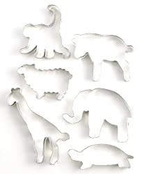 Martha Stewart Collection: 6 Piece Noah's Ark Cookie Cutters
