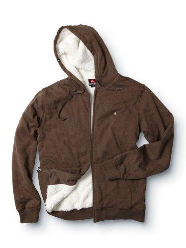 Quiksilver Mens Hoodie Sweatshirt - L