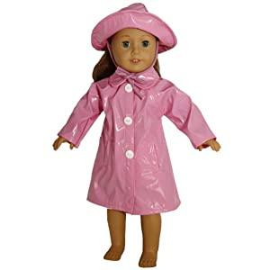 BUYS BY BELLA Raincoat for 18 Inch Dolls Like American Girl