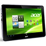 Acer Iconia A200 25,7 cm (10,1 Zoll) Tablet-PC (NVIDIA Tegra2 Dual-Core, 1GHz, 1GB RAM, 16GB Flashspeicher, Android 4.0) titanium grau
