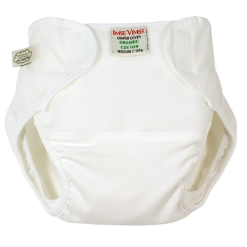 Imse Vimse White Organic Cotton Cover (11-17-lbs) - 1