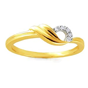 Gili KRL109 Ladies Ring 18KT Y Gold 2 19