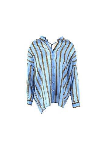Camicia Donna Pinko PICCONE Celeste Primavera/Estate Celeste 44
