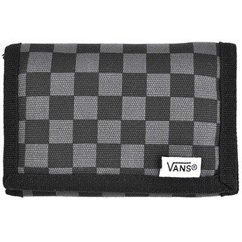 Vans Checkerboard Print Slipped Velcro Wallet Black Grey