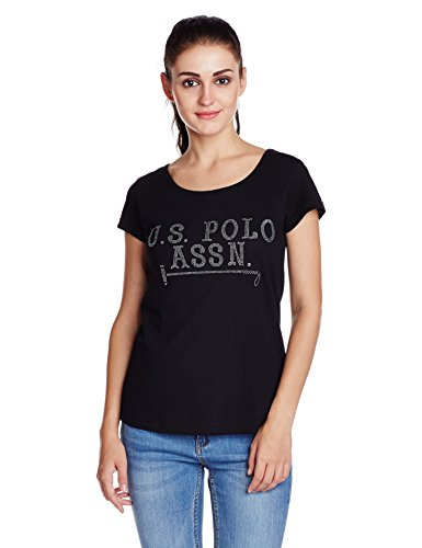 US-Polo-Womens-Solid-T-Shirt
