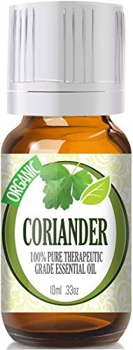 Coriander (Organic) 100% Pure, Best Therapeutic Grade Essential Oil - 10Ml