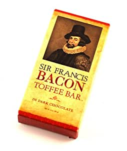 Sir Francis Bacon Dark Chocolate Bacon Toffee (3oz Bar)