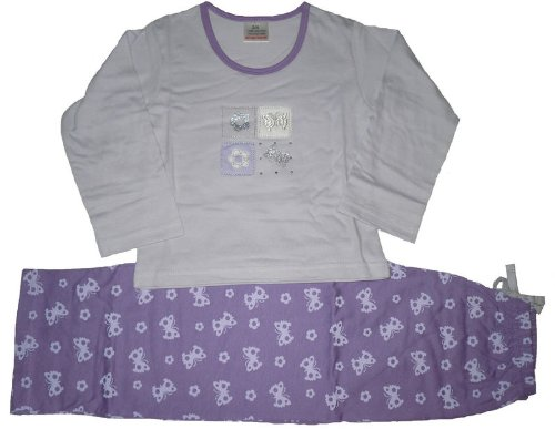 Girls Butterfly Pyjamas