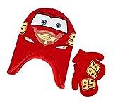 Disney CARS Toddler Boys Hat & Gloves Set