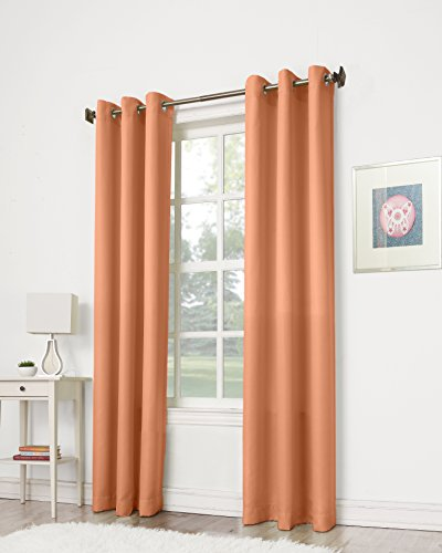 no-918-montego-casual-textured-grommet-curtain-panel-48-x-63-inch-cantaloupe-orange