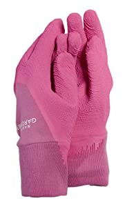 Town country small master gardener gardening gloves for Gardening gloves amazon