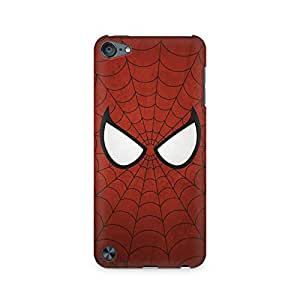 High Quality Printed Cover Case for Apple IPOD TOUCH 6 Model - The Web Slinger