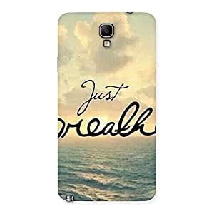 Just Breath Back Case Cover for Galaxy Note 3 Neo
