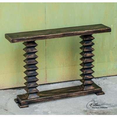 Uttermost Ridge Wooden 48X10 Console Table