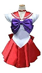 Sailor moon cosplay Sailor Mars Cosplay Costume Customized Any Size