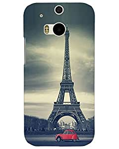 Htc One M8 Back Cover Designer Hard Case Printed Cover