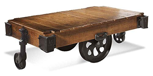 Factory Cart Table from Bassett Mirror Company, Inc.