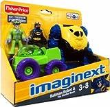 Imaginext Exclusive DC Super Friends Batman Robot & The Riddler Rover