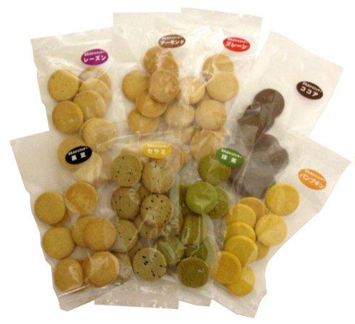 【Amazon.co.jp限定】 メニューディー 豆乳おからクッキー お試し8袋セット 30gx8袋
