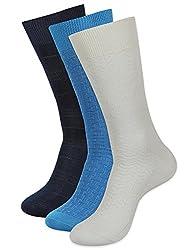 Balenzia Men's Mercerized Socks (Pack Of 3) (Jagmini37_Multi)