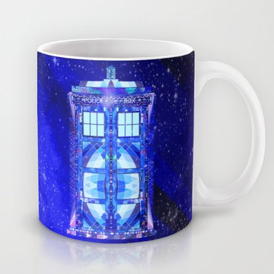 Society6 - The Tardis Coffee Mug By Fimbis