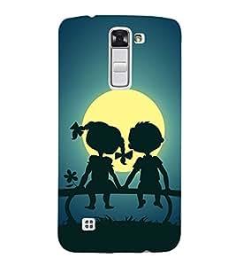 Sunset 3D Hard Polycarbonate Designer Back Case Cover for LG K10 :: LG K10 Dual SIM :: LG K10 K420N K430DS K430DSF K430DSY