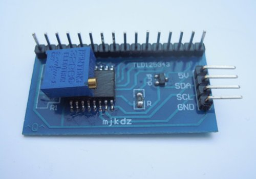 Generic Iic/I2C/Twi/Spi Serial Interface Board Module For Arduino 5V 1602 Lcd Display(Pack Of 5 Pcs)
