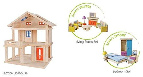 plan toys terrace dollhouse value pack toy publisher plantoys gtin ...