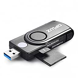 Opluz USB 3.0 Memory Card Reader with 4 Slots (OPM3291)