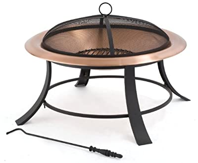 Tepro Copper Mountain 01391 Deluxe Copper Fire Pit Diameter 74 Cm from Tepro