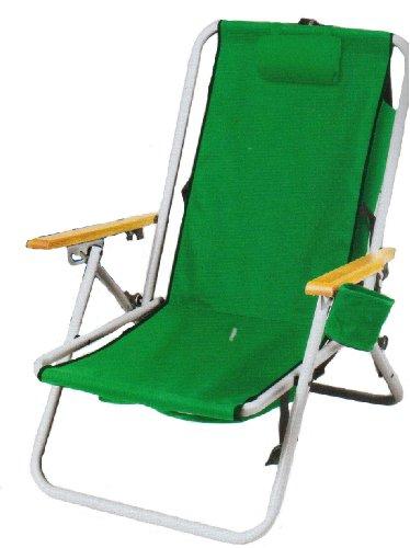 Rio Gear HandsFree Backpack Chair,Green