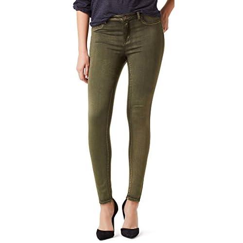 Vintage America Womens Boho Wash Skinny Jeans
