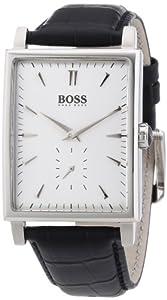 Hugo Boss Herren-Armbanduhr Analog Quarz Leder 1512783