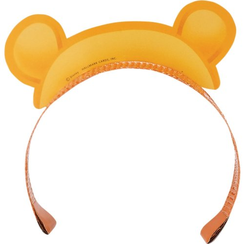 Winnie the Pooh Paper Headbands 4 count - 1