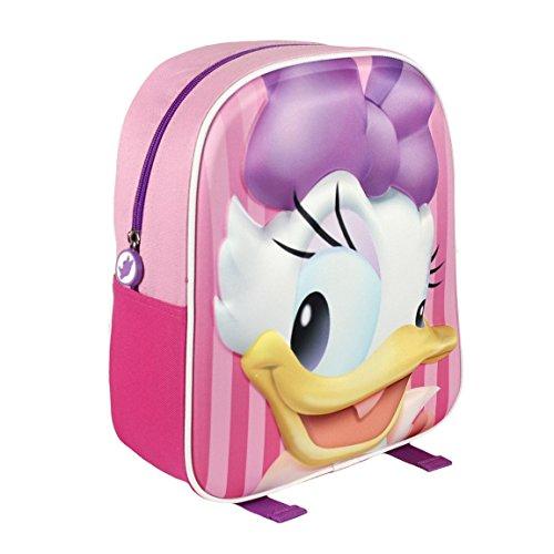 Disney 210000150931cm Daisy Duck effetto 3d Junior Zaino