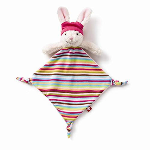 Zutano Plush Blankie, Hip Hoppy Girl