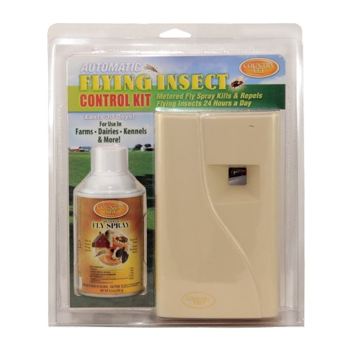 AMREP 073992 2 Piece Country Vet Equine Automatic Flying Insect Control Kit (Fly Dispenser compare prices)